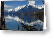Time For Reflection Greeting Card by Fran Riley