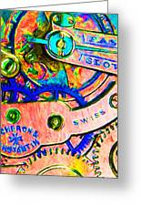Time In Abstract 20130605p180 Greeting Card by Wingsdomain Art and Photography
