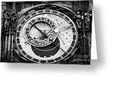 Time In Prague Greeting Card by John Rizzuto