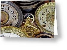 Time Long Gone Greeting Card by Tom Gari Gallery-Three-Photography