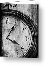 Time Greeting Card by Sheena Pike