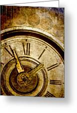 Time Travel Greeting Card by Carol Leigh