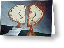Time Travel Greeting Card by Steve  Hester