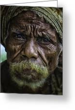 Timorese Fisherman Greeting Card by David Longstreath
