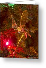 Tinker Bell Christmas Tree Landing Greeting Card by James BO  Insogna