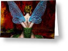 Tink's Fetish Greeting Card by Christopher Lane