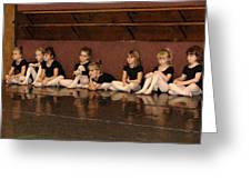 Tiny Dancers Greeting Card by Patricia Rufo