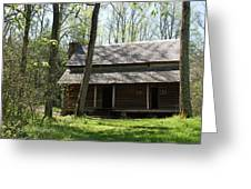 Tipton Place In Cades Cove Greeting Card by Roger Potts