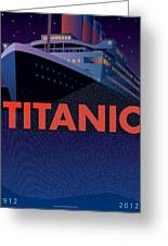 Titanic 100 Years Commemorative Greeting Card by Leslie Alfred McGrath