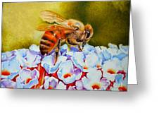 To Bee Or Not To Bee Greeting Card by Rene Holovsky