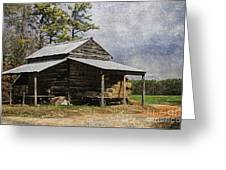 Tobacco Barn In North Carolina Greeting Card by Benanne Stiens