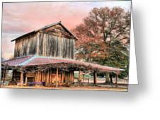 Tobacco Road Greeting Card by JC Findley