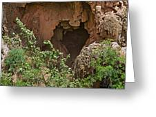 Tonto Natural Bridge State Park Greeting Card by Christine Till