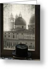 Top Hat Greeting Card by Joana Kruse