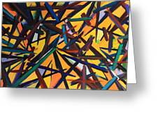 Total Chaos Greeting Card by Susi LaForsch