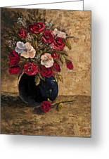 Touch Of Elegance Greeting Card by Darice Machel McGuire