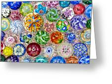 Touch Of Glass Greeting Card by Carole Gordon