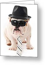 Tough Dog Greeting Card by Jt PhotoDesign