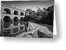 Tounj Bridge Greeting Card by Davorin Mance