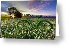 Tour De France Greeting Card by Debra and Dave Vanderlaan