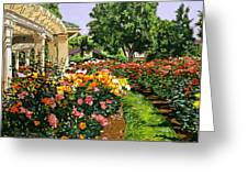 Tournament Of Roses II Greeting Card by David Lloyd Glover