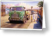 Tower Hill Transport. Greeting Card by Mike  Jeffries