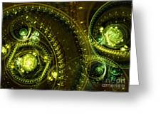 Toxic Dream Greeting Card by Martin Capek