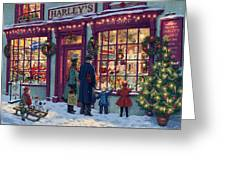Toy Shop Variant 2 Greeting Card by Steve Read
