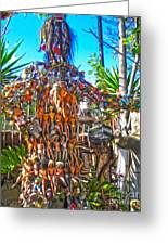 Toy Tree - 04 Greeting Card by Gregory Dyer