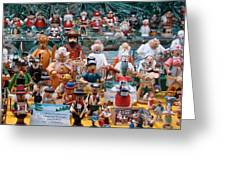 Toys And Nutcrackers For Sale Greeting Card by Ronda Broatch