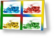 Tractor Mania II Greeting Card by Kip DeVore