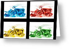 Tractor Mania Iv Greeting Card by Kip DeVore