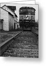 Train 9020 Greeting Card by Jerry Mann
