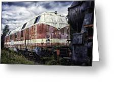 Train Memories Greeting Card by Mountain Dreams