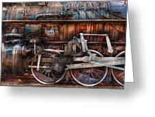 Train - With Age Comes Beauty Greeting Card by Mike Savad