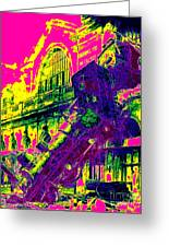 Train Wreck At Montparnasse Station 20130525 Greeting Card by Wingsdomain Art and Photography