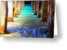 TRANQUILITY Greeting Card by KAREN WILES