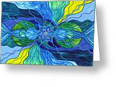 Tranquility Greeting Card by Teal Eye  Print Store