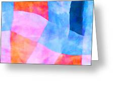 Translucence Number 2 Greeting Card by Carol Leigh