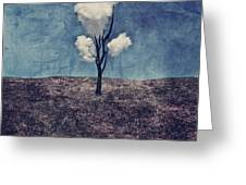 Tree Clouds 01d2 Greeting Card by Aimelle