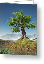 Tree Greeting Card by Daniel Eskridge