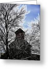 Tree House Greeting Card by Steve McKinzie
