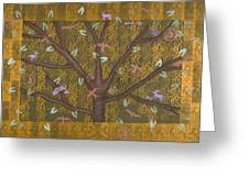 Tree Of Life Greeting Card by Diana Perfect