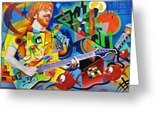 Trey Kandinsky  Greeting Card by Joshua Morton