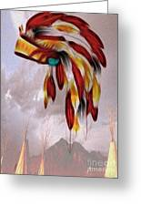 Tribal Greeting Card by Cheryl Young