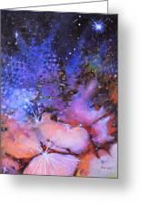 Trifid Nebula Greeting Card by Toni Wolf
