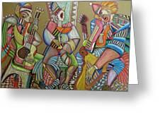 Trio To The Throne Greeting Card by Anatoliy Sivkov