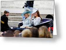 Trooping The Colour 2012 Greeting Card by Dutourdumonde Photography