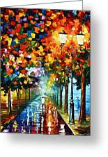 True Colors Greeting Card by Leonid Afremov