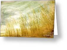 True Love Transcends Time Greeting Card by Linda Lees